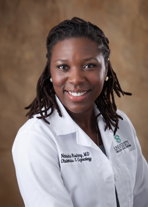 Dr. Natasha Rushing is an Obstetrics and Gynecology doctor here in Augusta, GA.